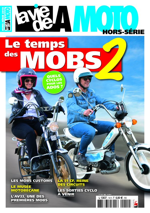 Le temps des MOBS 2, le hors-série de La Vie de la Moto.